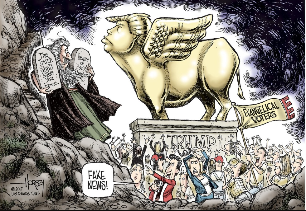 Trump Idol David Horsey